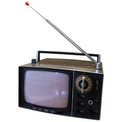 Vintage Sony 5-303W Micro TV, 1959, Japan