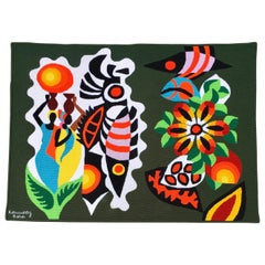 Mid-Century Modern South American Wall Art Tapestry by Kennedy Bahia