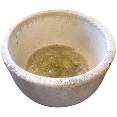 Vintage Ceramic Crucible