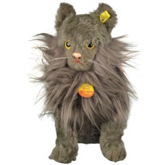 Lifesize Persian Cat Toy, Diva, by Steiff, Germany, 1968-1978