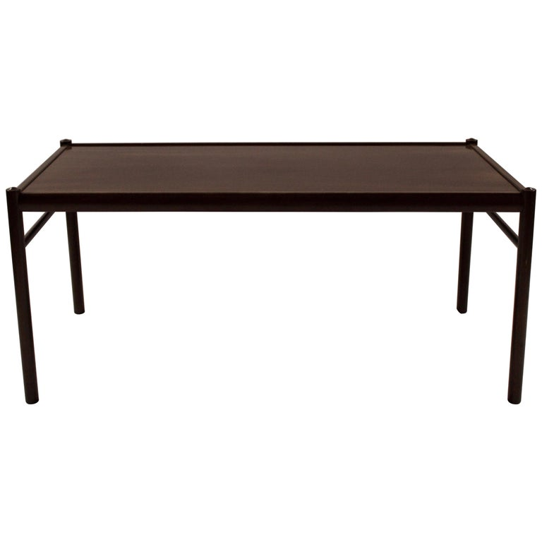 Coffee Table in Mahogany by Ole Wanscher and P. Jeppesen, 1960s