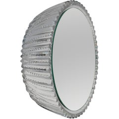 Wall Mirror 'Saturn 198a' Vintage Style 'Glass Frame'