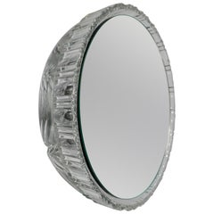 Wall Mirror 'Saturn 218c' Vintage Style 'Glass Frame'