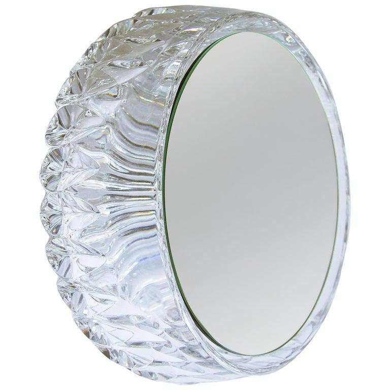 Wall Mirror 'Saturn 219b' Vintage Style 'Glass Frame'