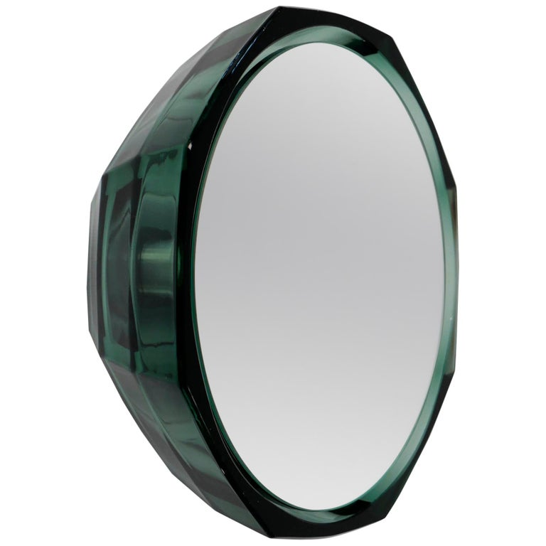 Wall Mirror 'Saturn 219c' Vintage Style 'Glass Frame'