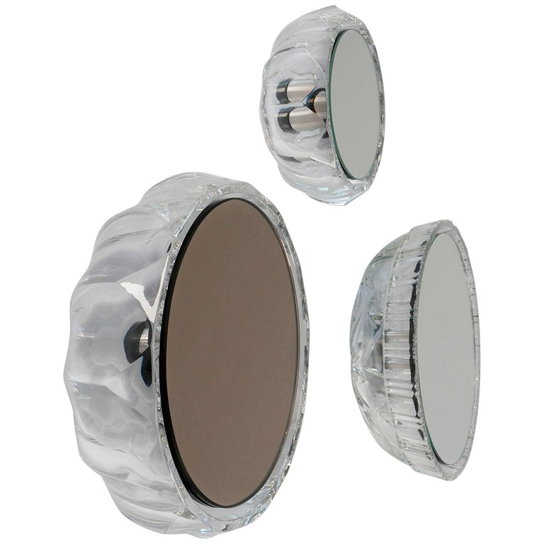 Wall Mirrors 'Saturn' Vintage Style 'Glass Frame'