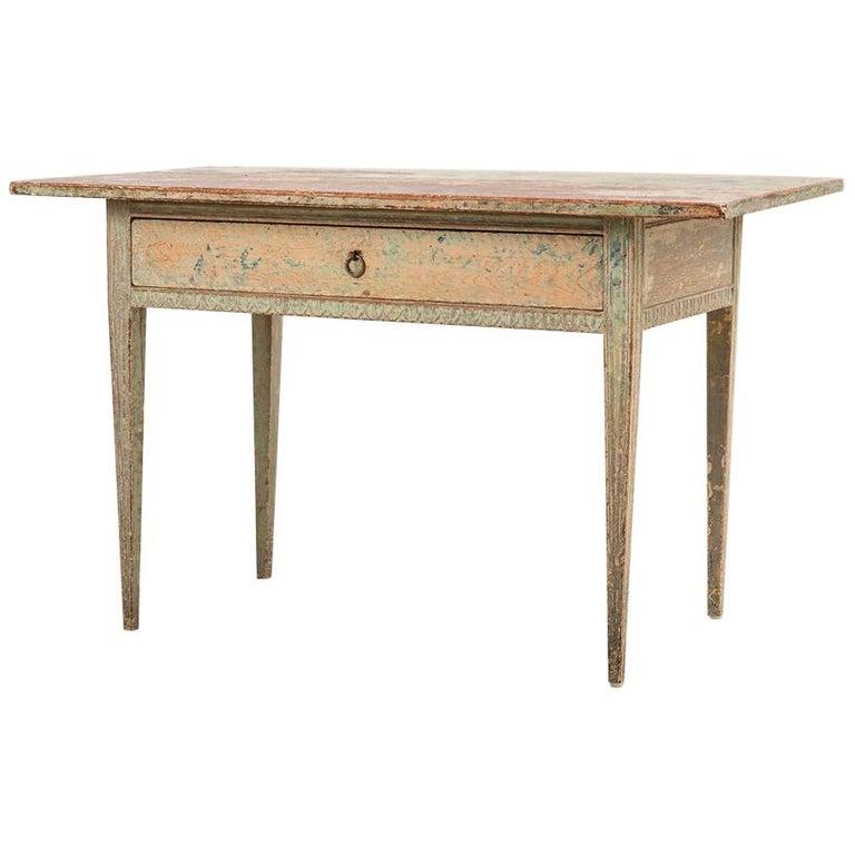 18th Century Swedish Gustavian Side Table