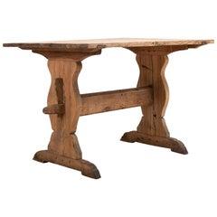 18th Century Swedish Farm House Table