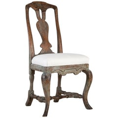 18th Century Swedish Baroque Chair