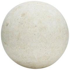 Tessellated Matte Mactan Stone Sphere - 7.5 in. Diameter