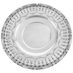 Marie Antoinette Sterling Plate
