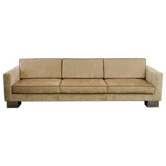 Modern Glamorous Sofa Manufactured in Los Angeles