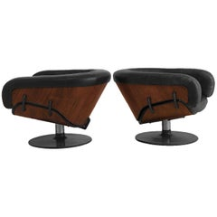 Martin Grierson for Arflex Pair of Longue Chairs
