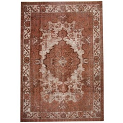 Vintage Persian Rugs, Red Rug, Carpet from Iran