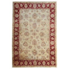 Persian Design Ziegler Mahal Sultanabad Oriental Style Rugs, Afghan Rugs