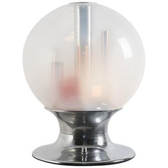ITER Elettronica Dimmer Light Table Lamp from the 1970s