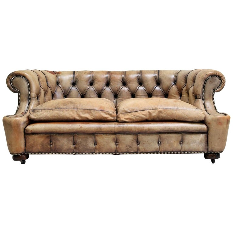 antik sofa Chesterfield Garnitur Antik Sofa Club Leder Couch 2er Vintage For  antik sofa