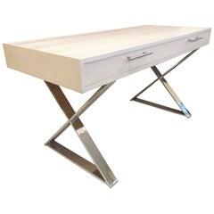 Milo Baughman Style Desk