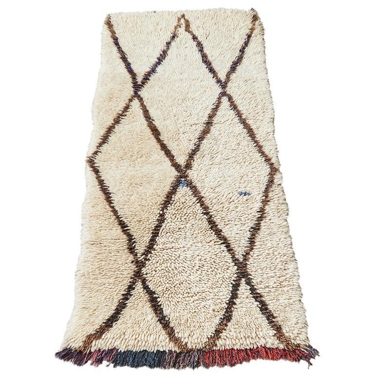 Vintage Moroccan Middle Atlas Rug For Sale
