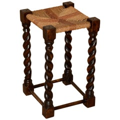 19th Century English Tall Stool