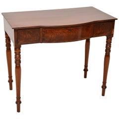 Antique Mahogany Console Table or Desk