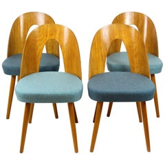 Dining Chairs by Antonin Suman for Mier, 1960s, Set of Four