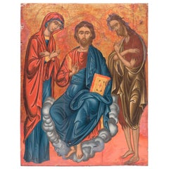 Jesus with John the Baptist and Mary Magdalene
