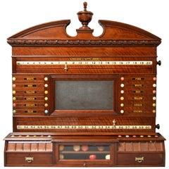 Billiards, Snooker or Pool Scoring Cabinet