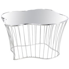 Plaza Coffee and Cocktail Table in Stainless Steel & Smoked Glass, Boca do Lobo