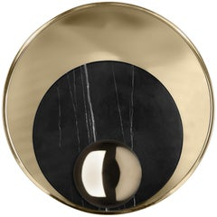 Large Metamorphosis Sconce in Gold-Plated Brass by Boca do Lobo
