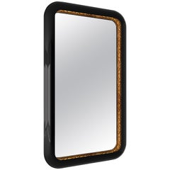 Ring Rectangular Mirror in Lacquered Wood by Boca do Lobo