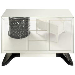 Metropolitan Sideboard with Mirrored Facade by Boca do Lobo