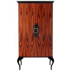 Guggenheim Cabinet with Wood Veneer by Boca do Lobo
