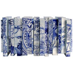 Heritage Sideboard in Blue Hand-Painted Tile by Boca do Lobo
