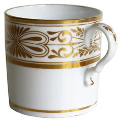 Early 19th Century Spode Porcelain Coffee Can Hand Gilded Pattern 1099, Ca 1810