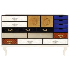 Soho Sideboard with Multicolored Drawer Fronts by Boca do Lobo