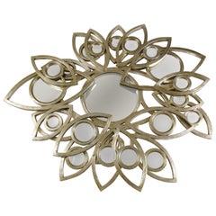 Neapoli Mirror with Gold Finish by Boca do Lobo