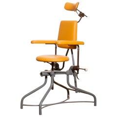 1930s, Steel Medical or Dentist Chair