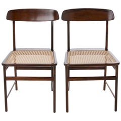 Mid-Century Modern Lucio Costa Rosewood Chair by the Designer Sergio Rodrigues