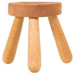 Wooden Stool by Ingvar Hildingsson