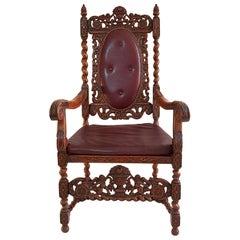 Swedish Baroque Style Armchair