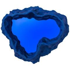 Blue Spill Mirror by Aaron Blendowski