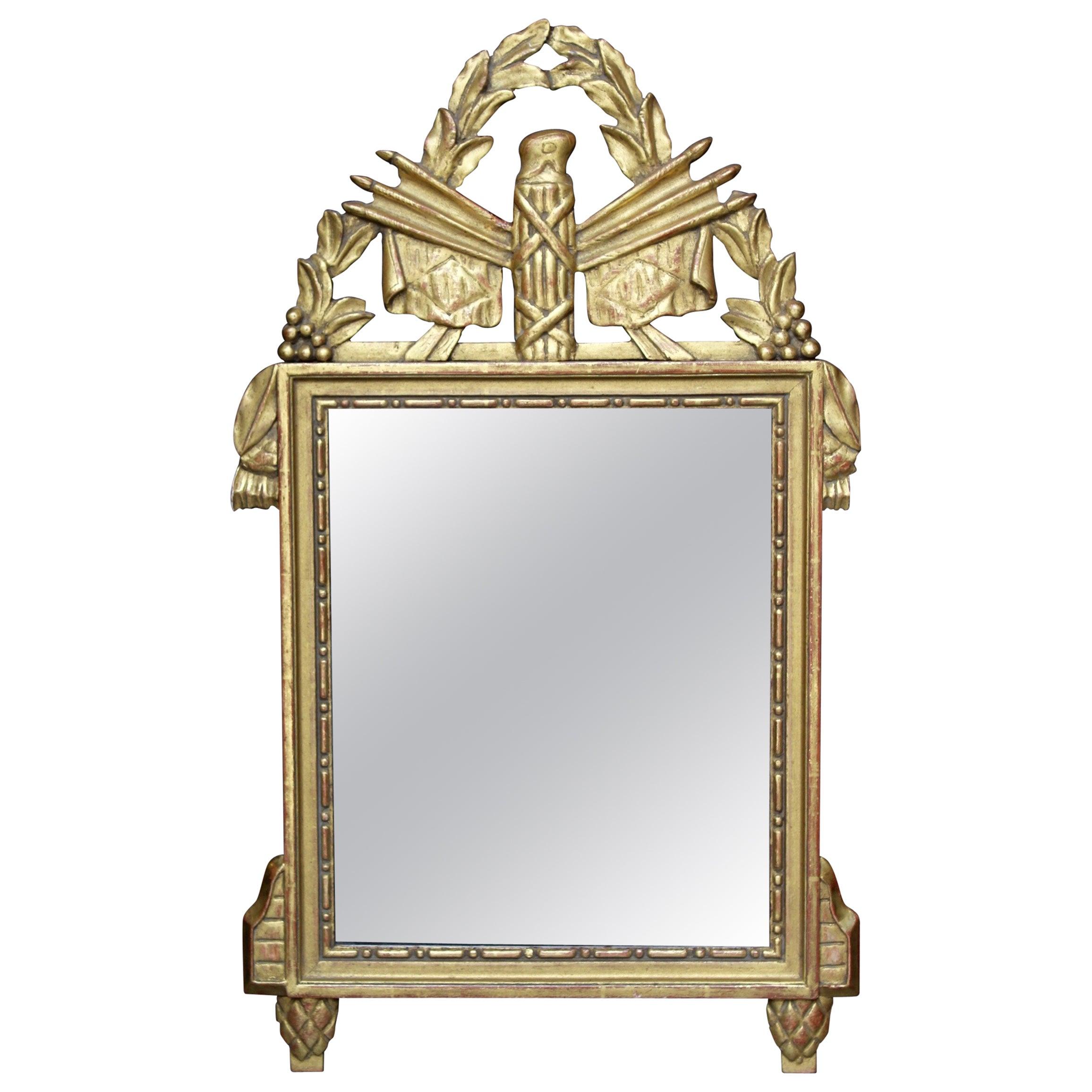18th century French Directoire Period Mirror