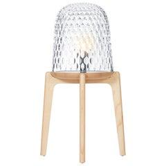 Saint-Louis Folia Floor Lamp in Clear Ash by Noé Duchaufour-Lawrance