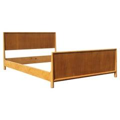 T.H. Robsjohn-Gibbings for Widdicomb Full Size Bed, Refinished