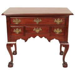 18th Century Chippendale Walnut Dressing Table