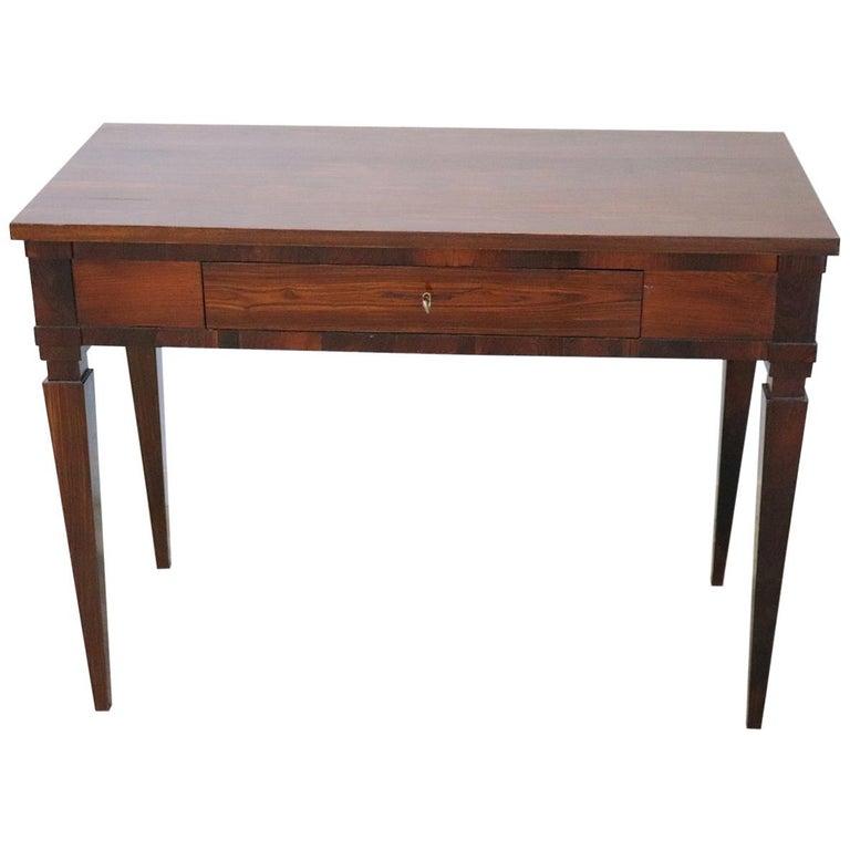 18th Century Italian Louis XVI Rosewood Writing Desk
