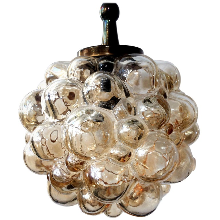 Bubble Amber Pendants by Helena Tynell for Limburg