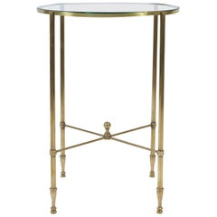 1950s Brass Side Table