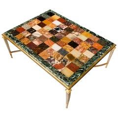 Fine Italian Specimen Marble-Top Table